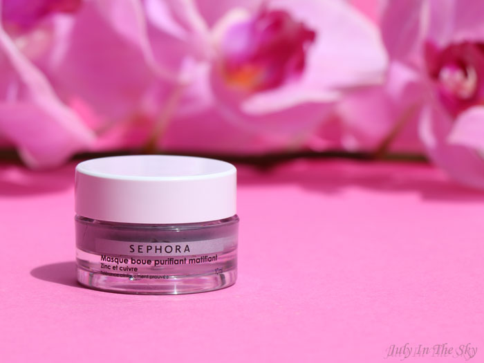 blog beauté avis test Sephora Collection Masque Boue