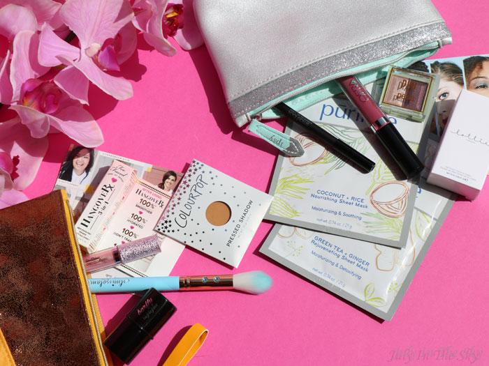 Les Glam Bag d'Ipsy de novembre et décembre
