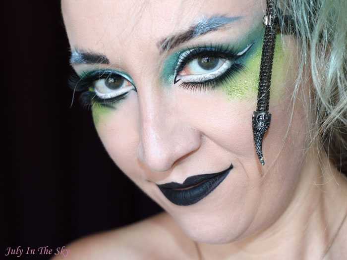 blog beauté tutoriel maquillage Harry Potter serpentard