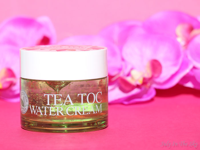 blog beauté kbeauty TesterKorea Tea Toc Water Cream A;T FOX