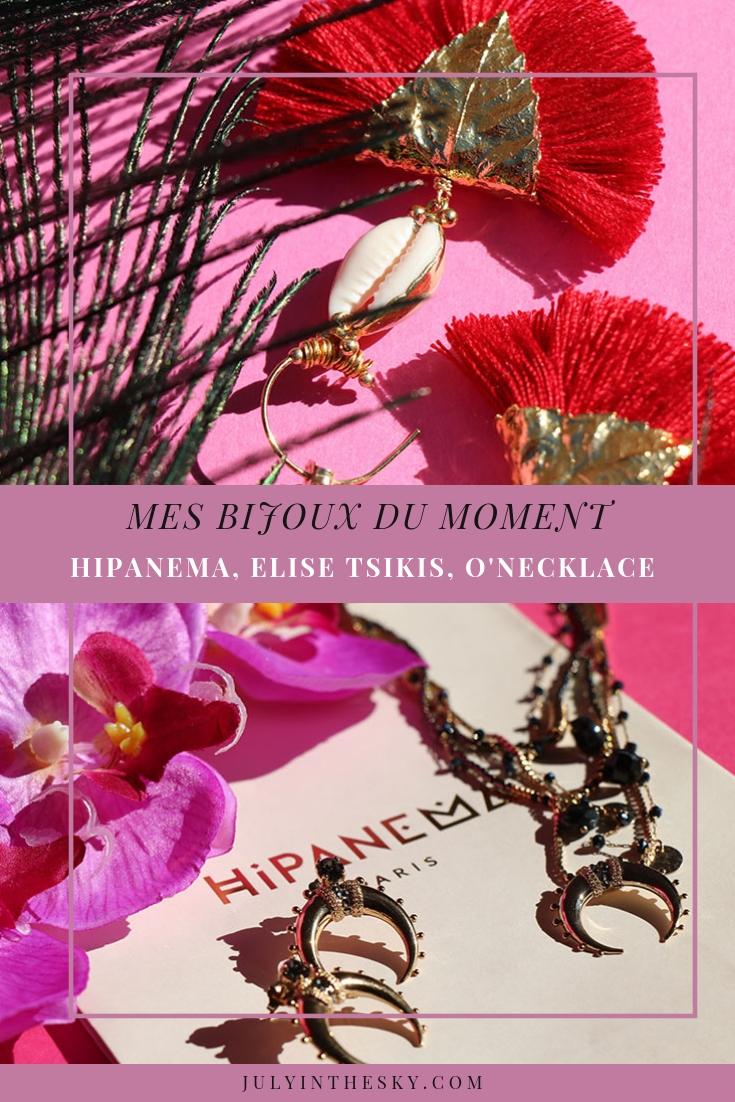 blog beauté bijou Hipanema, Elise Tsikis, O'Necklace