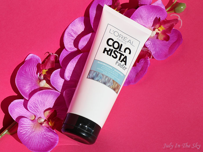 blog beauté L'Oréal shampooing Colorista Fader avis