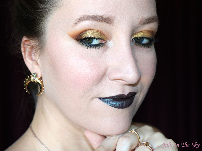 blog beauté bijou boucles d'oreilles Karma Gold Himanema