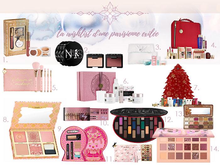 wishlist Sephora Noël
