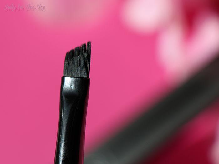 blog beauté avis pinceau Kat Von D Powder Brow Brush