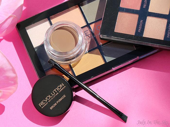 blog beauté Makeup Revolution Brow Pomade Blonde