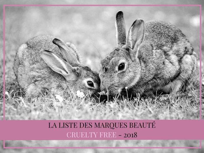 Liste des marques beauté et kbeauty cruelty free 2018