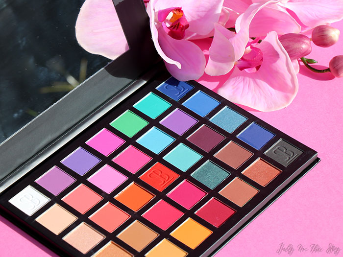 blog beauté The Paradigm Shift Palette Sample Beauty