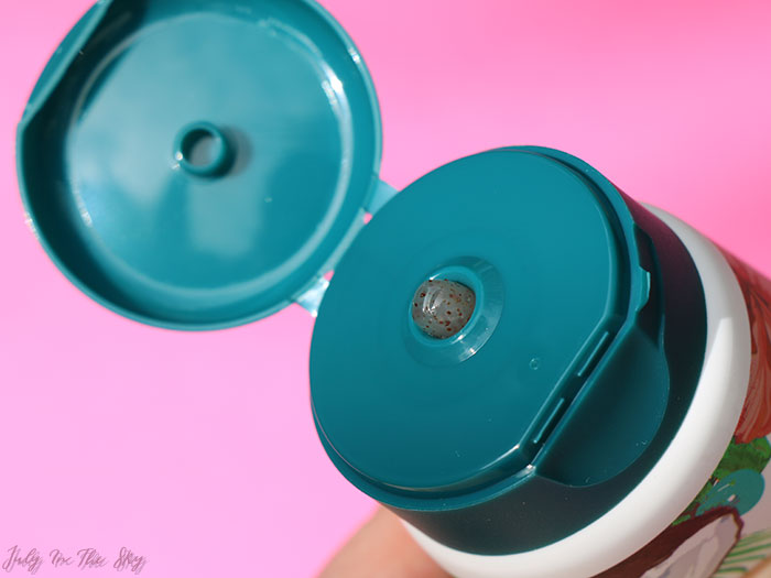 blog beauté cosmétiques U Bio avis test gelée huile exfoliante coco