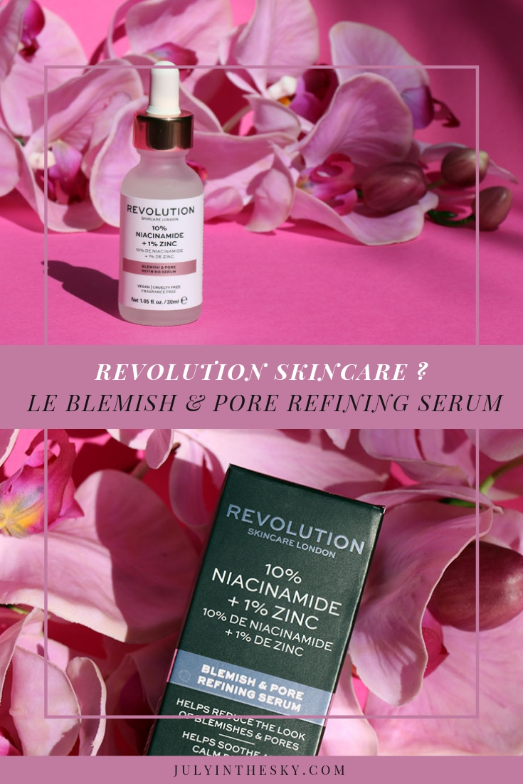 blog beauté Revolution Skincare Blemish & Pore Refining Serum