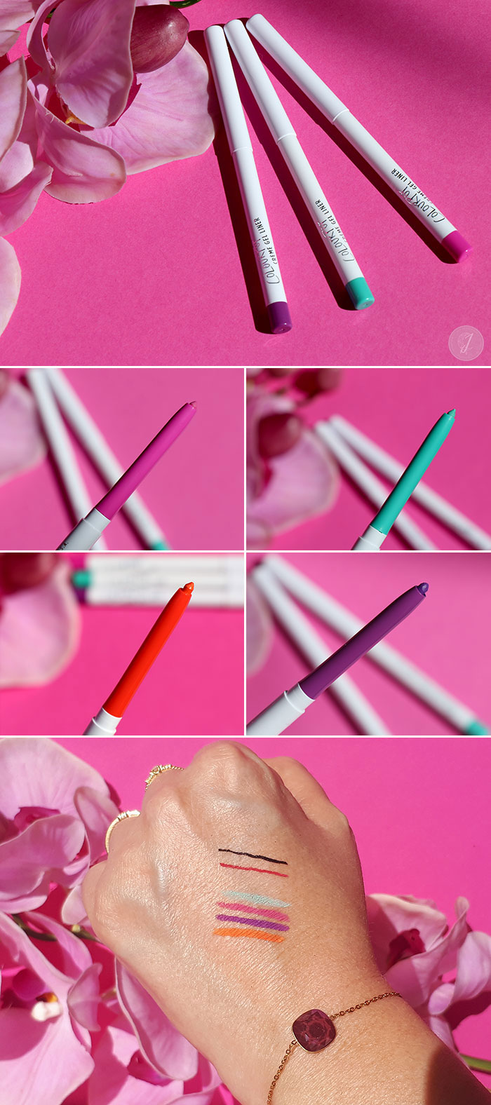blog beauté ColourPop Creme Gel Liner swatch