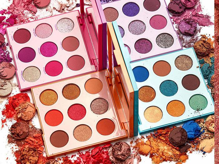 blog beauté ColourPop palette Monochromatic Tones