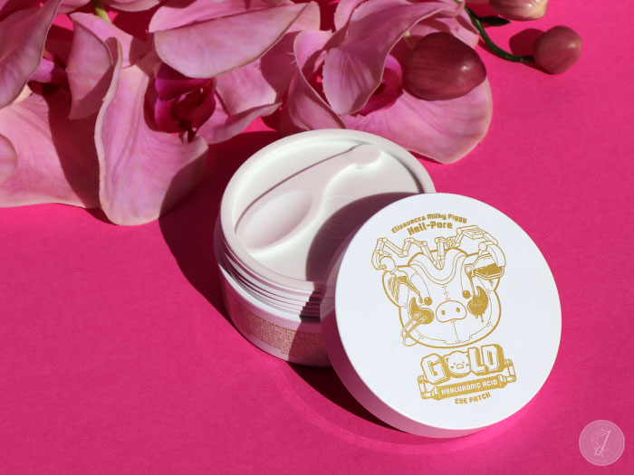 blog beauté Elizavecca kbeauty Hell Pore Gold Hyaluronic Acid Eye Patch