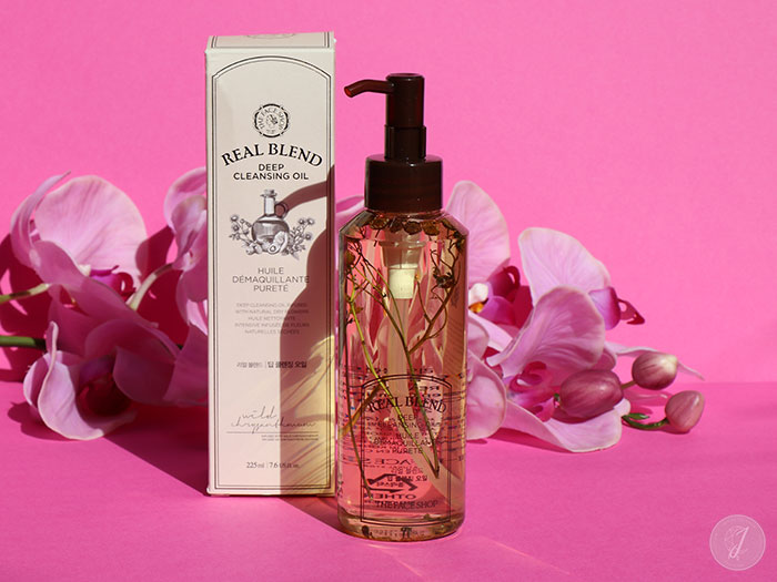 blog beauté kbeauty Real Blend Cleansing Oil The Face Shop
