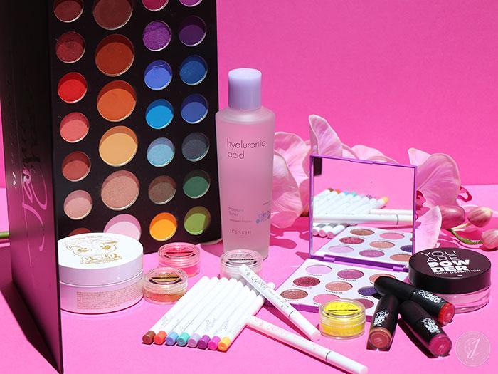blog beauté favoris printemps Colourpop Morphe Suva It's Skin You Are Cosmetics