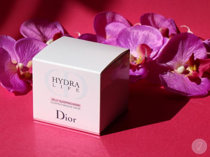blog beauté avis Hydra-Life Jelly Sleeping Mask Dior