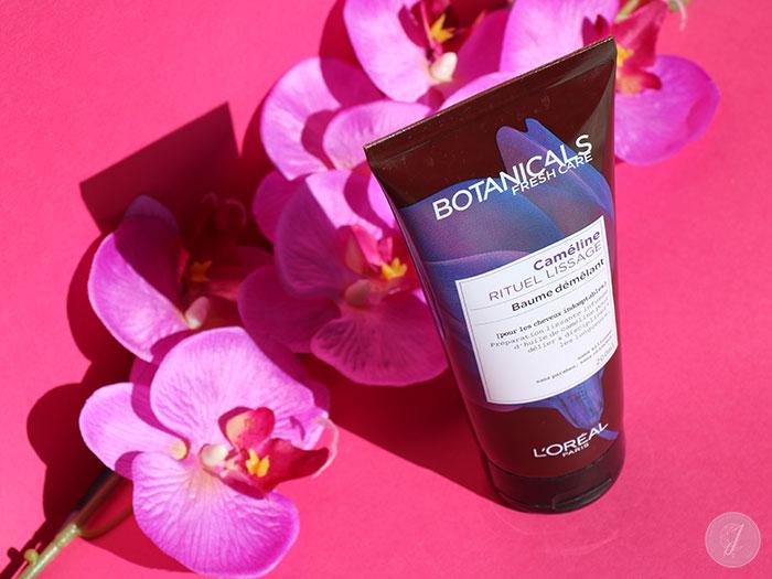 blog beauté L'Oréal Botanicals Fresh Care Caméline Rituel Lissage Baume Démêlant