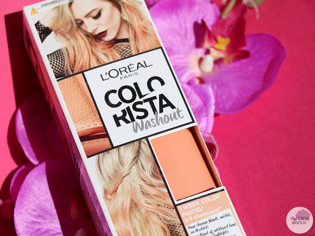 Le Colorista PeachHair de L'Oréal pour pimper mon blond platine