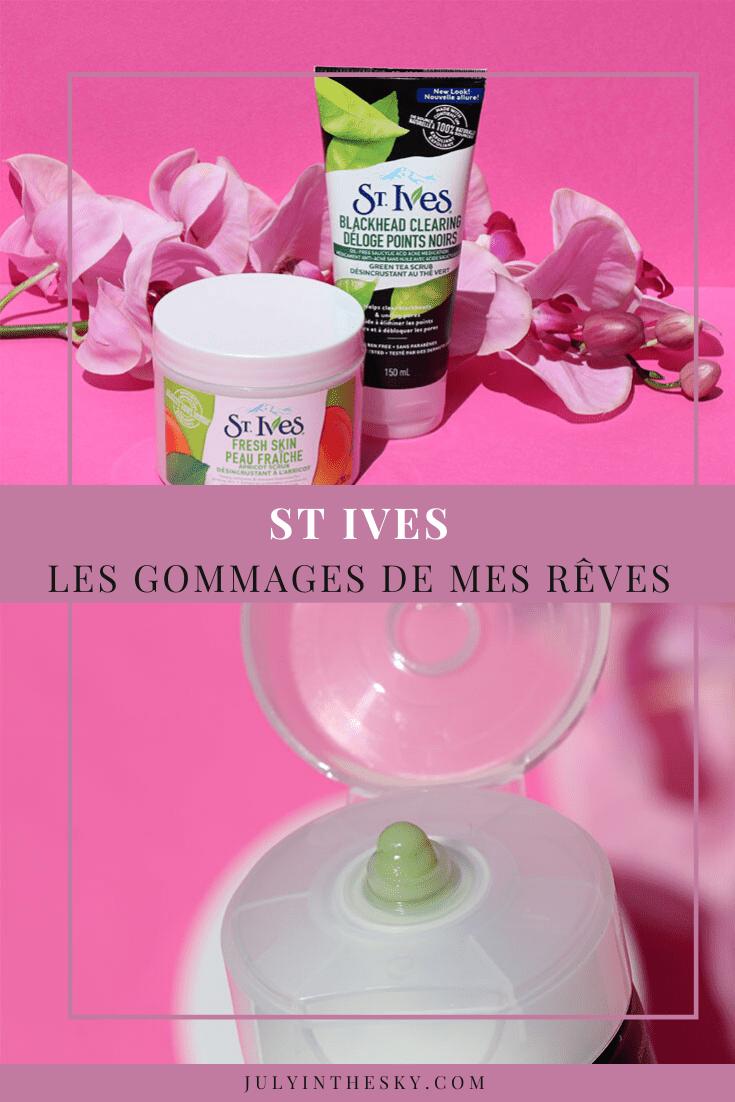 blog beauté gommage St Ives