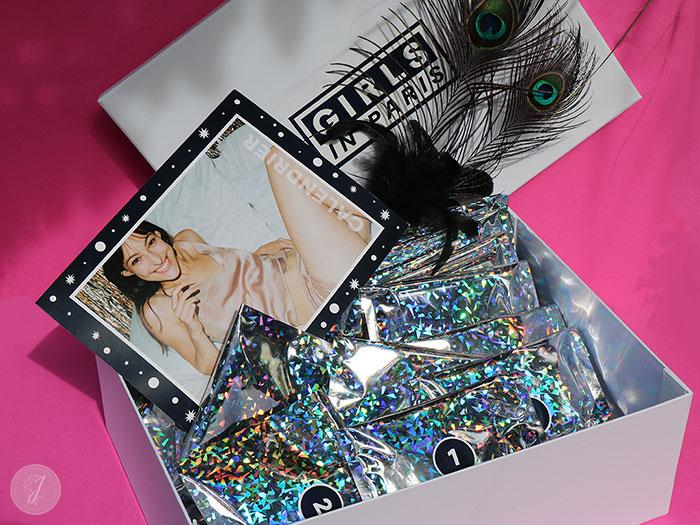 blog beauté Calendrier Avent Girls In Paris lingerie