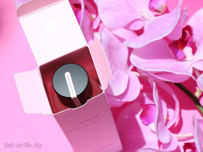 blog beauté fleur du japon a-true lotion clarifiante thé noir verveine