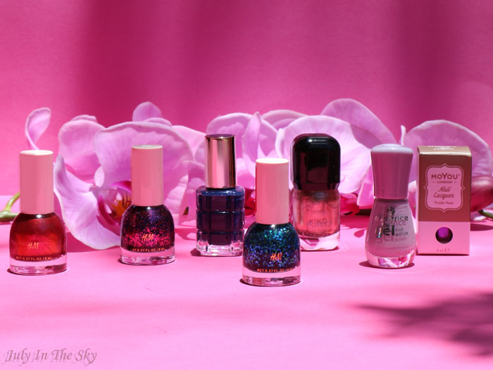 blog beauté haul vernis moyou l'oréal h&m essence
