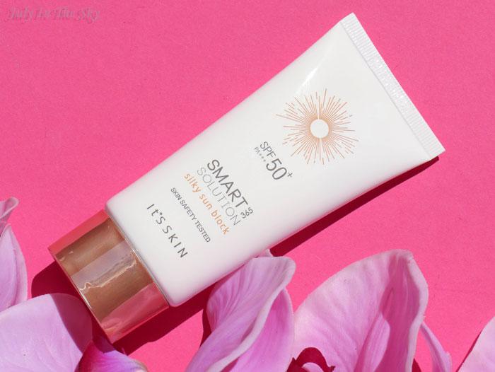 blog beauté crème solaire Smart Solution 365 Silky Sun Block It's Skin