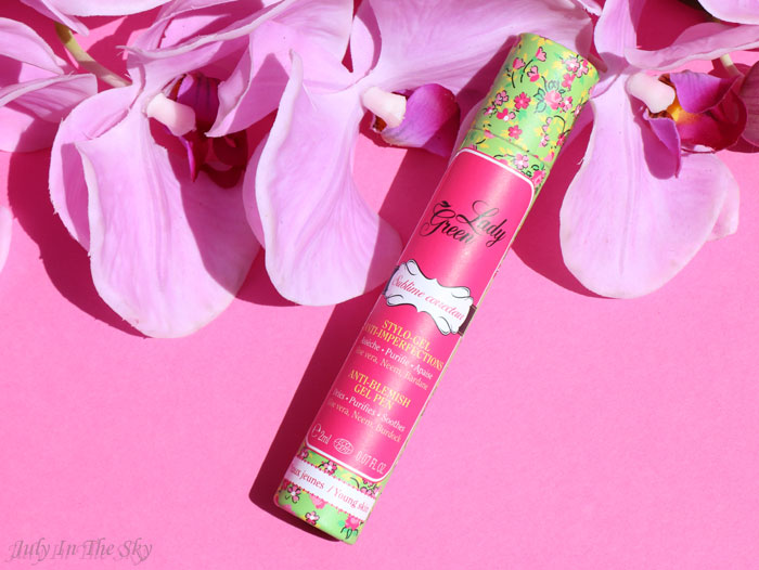blog beauté Sublime Correcteur stylo gel anti imperfections Lady Green