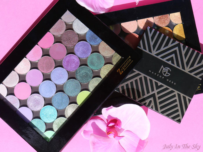 blog beauté makeup geek palette fards mats nouvelle collection manny mua