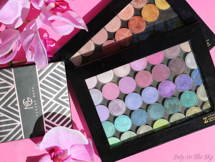 blog beauté makeup geek palette fards mats nouvelle collection