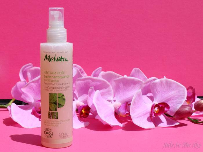 blog beauté melvita monde bio nectar pur gelée nettoyante purifiante