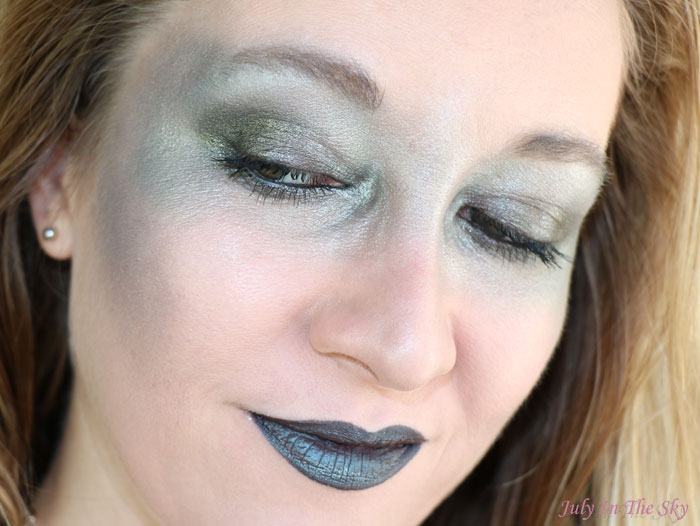 blog beauté monday shadow challenge aqua green