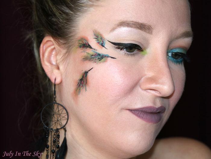blog beauté monday shadow challenge coin coin blue