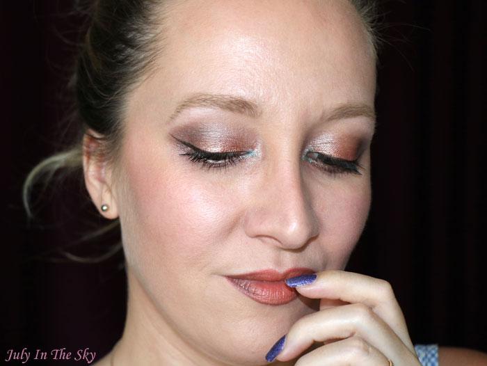 blog beauté monday shadow challenge natural golden brown