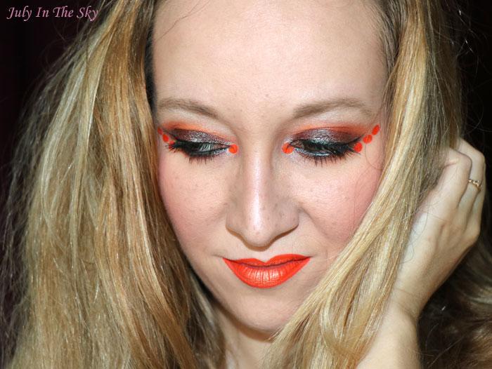 blog beauté monday shadow challenge orange juice
