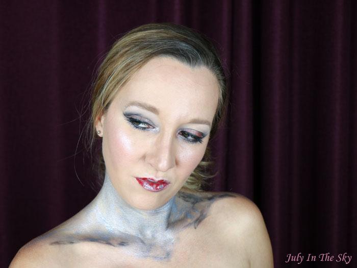 blog beauté monday shadow challenge silver princess