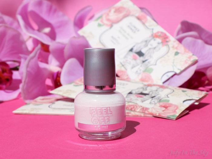 blog beauté haul nail art boutique dupe latex peel of