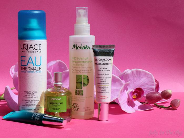 blog beauté routine visage printemps peaux mixtes matin