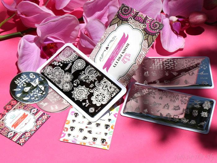 blog beauté nail art stamping née jolie born pretty store