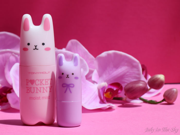 July In The Sky : blog beauté tonymoly parfum pocket bunny brume