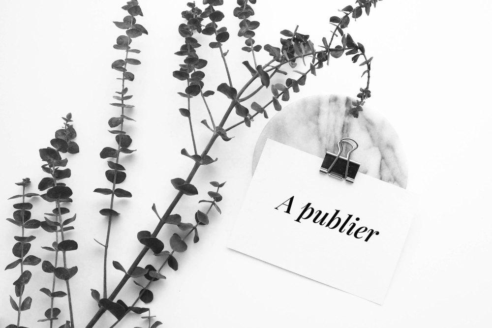 Les étapes clés de publication d'un article de blog