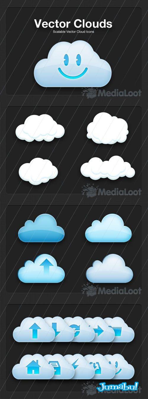 10096564 - Nuves en vectores o vectorizadas