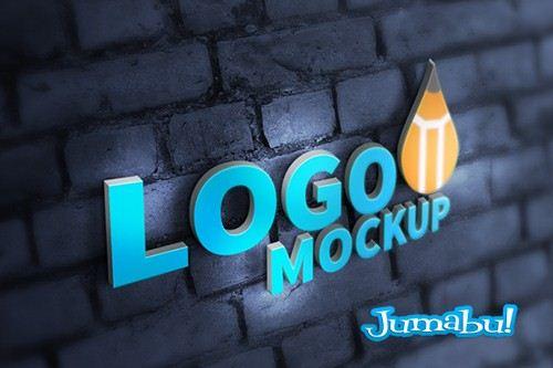 3D-logo-mockup-psd