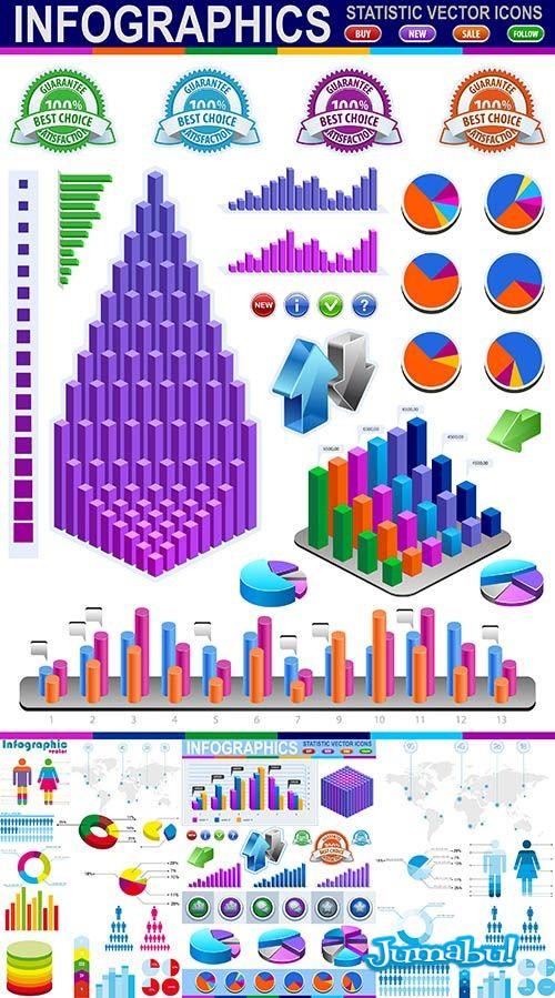 Infografias - Infografías Multicolores