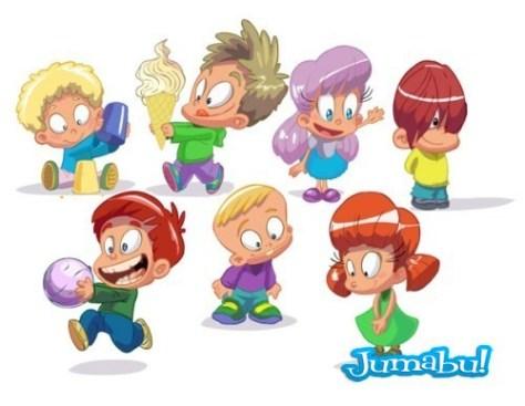 Set of  funny kids 01 []