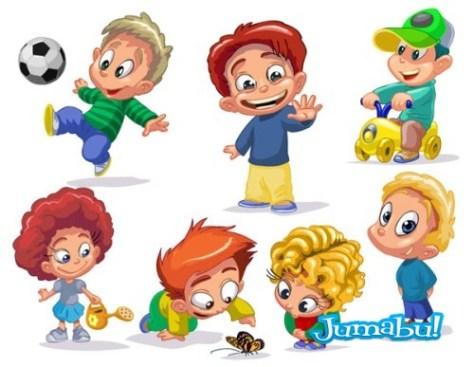 Set of  funny kids 06 []