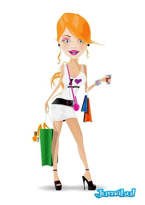 vectores-mujeres-compras