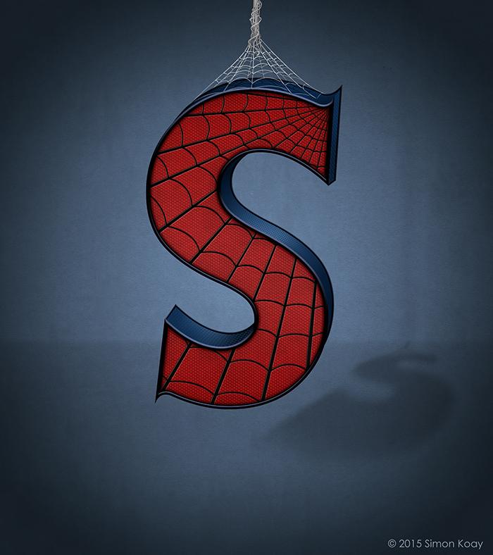 Spiderman-letras-alfabeto