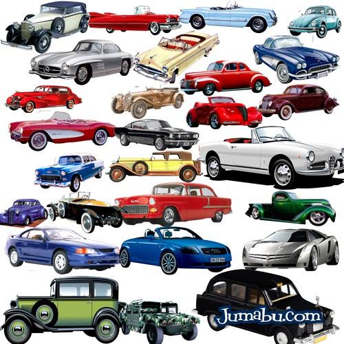 autos-antiguos-psd-recortados-gratis