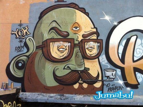 bush yok 500x373 - Excelente Blog de Grafitis